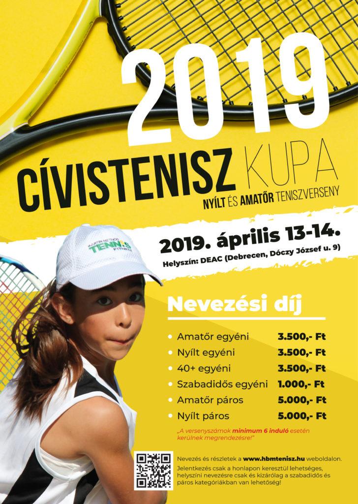 Civistenisz kupa plakát 2019