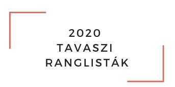 2020 TAVASZI RANGLISTÁK